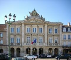 Hôtel de ville - Français:   L\'hôtel de ville de Pont-à-Mousson (Meurthe-et-Moselle)