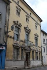 Immeuble - English: Pont-à-Mousson, house 19 Rue Saint-Laurent