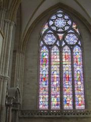 Ancienne cathédrale Saint-Etienne et son cloître - Toul transept sud de la cathédrale