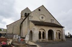 Eglise - English:   à Vandières l\'église.