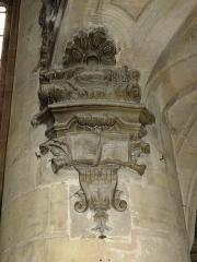 Eglise Saint-Etienne - Bar-le-Duc (Meuse) église St.Etienne, décoration orgue