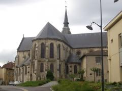 Eglise Saint-Pantaléon - Français:   Église Saint-Pantaléon de Commercy (Meuse, France). Chevet