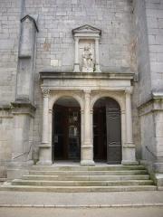 Eglise Saint-Pantaléon - Français:   Église Saint-Pantaléon de Commercy (Meuse, France). Portail