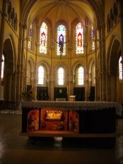 Eglise Saint-Pantaléon - Français:   Église Saint-Pantaléon de Commercy (Meuse, France). Autel principal et chœur