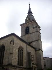 Eglise Saint-Pantaléon - Français:   Église Saint-Pantaléon de Commercy (Meuse, France). Clocher