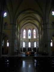 Eglise Saint-Pantaléon - Français:   Église Saint-Pantaléon de Commercy (Meuse, France). Nef