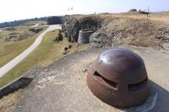 Fort - Deutsch: Beobachtungspanzerstand in Fort Doaumont (Verdun)
