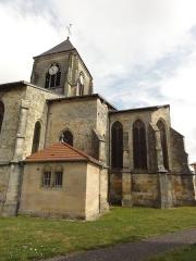 Eglise Saint-Hilaire - Longeville-en-Barrois (Meuse) église