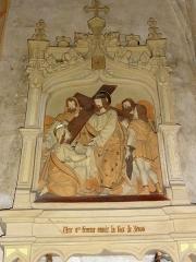 Eglise Saint-Hilaire - Chemin de croix de l'église de Longeville-en-Barrois , station 6