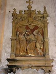 Eglise Saint-Hilaire - Chemin de croix de l'église de Longeville-en-Barrois , station 8