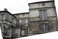 Ancienne abbaye - Français:   Hôtel de Gondrecourt vue depuis la rue porte à Nancy.