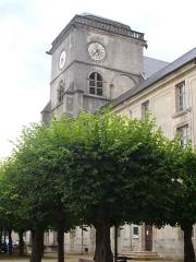 Ancienne abbaye - Église abbatiale Saint-Michel de Saint-Mihiel (Meuse, France)