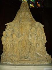 Eglise Saint-Etienne - Français:   Église Saint-Étienne de Saint-Mihiel (Meuse, France). Vierge de miséricorde - Terre cuite, XVIIe siècle