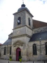 Eglise Saint-Etienne - Français:   Église Saint-Étienne de Saint-Mihiel (Meuse, France)