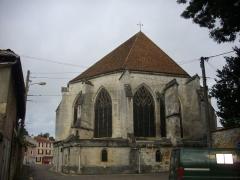 Eglise Saint-Etienne - Français:   Église Saint-Étienne de Saint-Mihiel (Meuse, France). Chevet