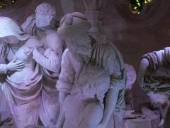 Eglise Saint-Etienne - Mise au Tombeau par Ligier Richier, en l'église Saint-Étienne de Saint-Mihiel (Meuse, France): Joseph d'Arimathie