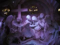 Eglise Saint-Etienne - Français:   Mise au Tombeau par Ligier Richier, en l\'église Saint-Étienne de Saint-Mihiel (Meuse, France)