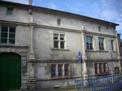 Immeuble - Français:   Hôtel de Bousmard à Saint-Mihiel (Meuse, France)