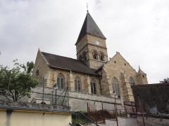 Eglise Saint-Menge - Français:   Trémont-sur-Saulx (Meuse) église