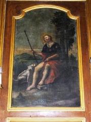Eglise Saint-Laurent - English: Vaucouleurs (Meuse) Église Saint-Laurent, tableau Saint Roch