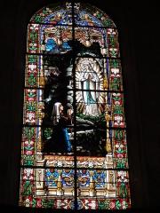 Eglise Saint-Laurent - English: Vaucouleurs (Meuse) Église Saint-Laurent, vitrail (atelier Graff et Adam)