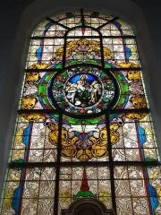 Eglise Saint-Laurent - English: Vaucouleurs (Meuse) Église Saint-Laurent, vitrail