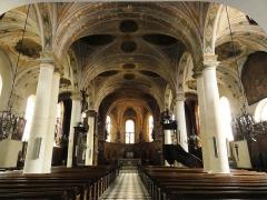 Eglise Saint-Laurent - English: Vaucouleurs (Meuse) Église Saint-Laurent, intérieur