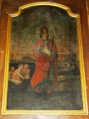 Eglise Saint-Laurent - English: Vaucouleurs (Meuse) Église Saint-Laurent, tableau Saint Nicolas