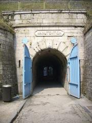 Citadelle - Français:   Entrée de la Citadelle souterraine à Verdun (Meuse, France)