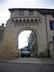 Porte Châtel - Français:   Porte Châtel à Verdun (Meuse, France), vue de l\'ouest