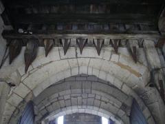 Porte Chaussée (porte et passage entre deux tours) - Français:   Porte Chaussée à Verdun (Meuse, France), herse