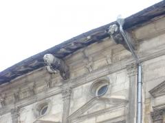 Ancien Hôtel de Faillonnet ou maison des gargouilles - Français:   Hôtel des gargouilles à Saint-Mihiel (Meuse, France). Détail de gargouilles