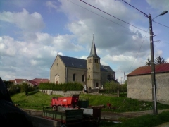 Eglise - English: Picture of St Michel's church.