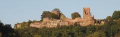 Ruines du château - English: Castle ruins of Lutzelbourg, Moselle, France