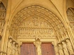 Cathédrale Saint-Etienne - Cathédrale de Metz (Moselle, France).
