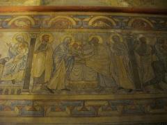 Chapelle des Templiers - Chapelle des Templiers de Metz (Moselle, France); peintures du chœur: la Présentation au Temple