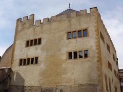 Ancienne commanderie Saint-Antoine - Français:   Grange des Antonistes de Metz, vue de l\'arrière du bâtiment.