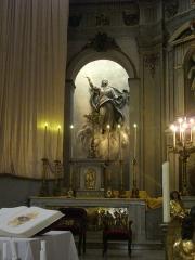 Eglise Notre-Dame - Église Notre-dame de Metz (Moselle, France); statue de l'Assomption, réalisée par Dominique Molknecht en 1833