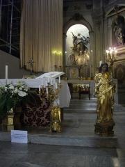 Eglise Notre-Dame - Église Notre-dame de Metz (Moselle, France); chœur