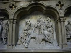Eglise Saint-Martin - Église Saint-Martin de Metz (Moselle, France); chemin de croix, onzième station