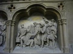 Eglise Saint-Martin - Église Saint-Martin de Metz (Moselle, France); chemin de croix, dixième station