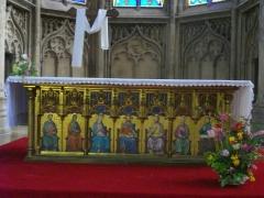 Eglise Saint-Martin - Église Saint-Martin de Metz (Moselle, France). Autel principal