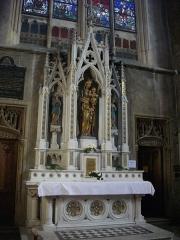 Eglise Saint-Martin - Église Saint-Martin de Metz (Moselle, France); autel secondaire