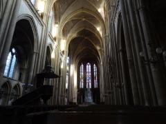 Eglise Saint-Vincent - Nef de la basilique Saint-Vincent.