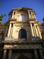 Eglise Saint-Vincent - Français:   Église Saint-Vincent de Metz (Moselle, France); façade