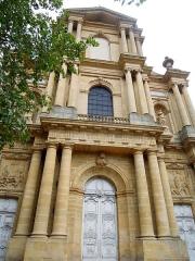 Eglise Saint-Vincent - Façade classique