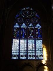 Eglise Saint-Vincent - Français:   Église Saint-Vincent de Metz (Moselle, France); vitrail