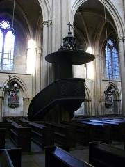 Eglise Saint-Vincent - Français:   Église Saint-Vincent de Metz (Moselle, France); chaire