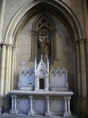 Eglise Saint-Vincent - Français:   Église Saint-Vincent de Metz (Moselle, France); autel secondaire