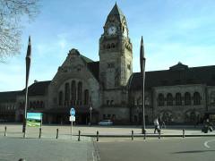 Gare - Deutsch: Der Bahnhof Metz